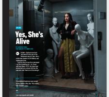 Lilian Cheng - My Job - Live Mannequin