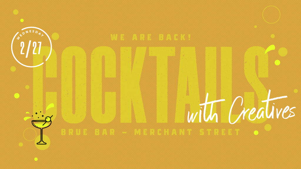 02-19 Cocktails with Creatives - Brue Bar - Facebook Event Header Alternate
