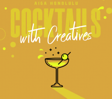 02-19 Cocktails with Creatives - Brue Bar - Instagram - Martini