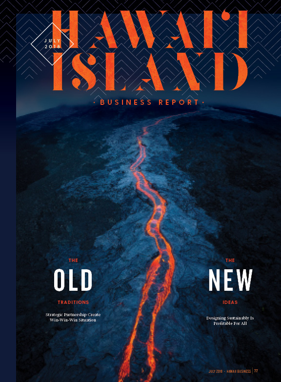 07-18 Hawaii Island Business Report - Cover